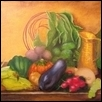 "FALL HARVEST 2020 -- Artist: Sandra Bell Size: 24"" x 18"" Medium: Oil Price: $300.00"