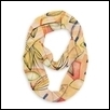 October Leaves Infinity Scarf