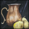 "PEAR STUDY -- Artist: Carole Wilds Size: 11"" x 14"" Medium: Watercolor Price: $300.00"