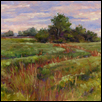 "AUTUMN SWALE -- Artist: Chris Willey Size: 14"" x 11"" Price: $550.00"