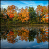 "AUTUMN REFLECTION -- Artist: Paul Middleton Size: 18"" x 12"" Medium: Photography Price: $250.00"