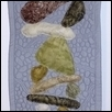 "FINDING BALANCE -- Artist: Leslie Campbell Size: 10.5"" x 42"" Medium: Fiber, Jewellry/Wearable Art Price: $175.00"