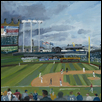 "ANGELS AT THE K -- Artist: David Cooper Size: 16"" x 20"" Medium: Oil Price: $300.00 ***SOLD***"
