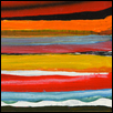 "COLOR STRIPES -- Artist: David Cooper Size: 6"" x 4"" Medium: Oil Price: $165.00"