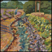 "BELL GARDEN -- Artist: David Cooper Size: 15"" x 11.5"" Medium: Oil Price: $430.00"