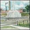 Rededication Bloch Fountain (Union Station 2016)