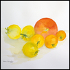 "STILL LIFE: YELLOW AND RED -- Artist: Steven Schroeder Size: 20"" x 14"" Medium: Watercolor Price: $250.00"