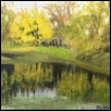 "WILLIAM'S POND -- Artist: Dustin Miller Size: 8"" x 10"" Medium: Oil Price: $230.00"
