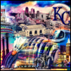 "WELCOME TO KC -- Artist: Nate Evans Size: 48"" x 32"" Medium: Digital Media Price: $300.00 ***SOLD***"