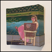 "AT EASE -- Artist: Jennifer Weigel Size: 4"" x 4"" Medium: Mixed Media Price: $40.00"