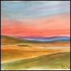 "DAILY SPECTACLE OF NATURE -- Artist: Elisabeth Sauer Size: 23"" x 19"" Medium: Watercolor Price: $400.00"