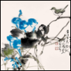 "FALL THE SINGING OF BIRDS -- Artist: Xiaoyun Pan Size: 20"" x 18"" Price: $2,000.00"