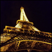 "PARIS AT NIGHT -- Artist: Rebekah Burgweger Size: 16"" x 20"" Price: $200.00"