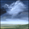 "WIND STORM ON THE PRAIRIE -- Artist: Gloria Gale Size: 19"" x 22"" Price: $350.00"