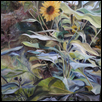 "WILD SUNFLOWERS -- Artist: Loreta Feeback Size: 30"" x 40"" Medium: Oil Price: $1,600.00"