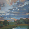 "SUNSET ON THE PRAIRIE -- Artist: Jacqueline Smith Size: 9"" x 12"" Price: $475.00"
