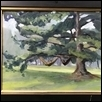 "RELAXING IN THEIS PARK -- Artist: Louanne Hein Size: 16"" x 12"" Medium: Oil Price: $350.00"