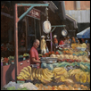 "MINDING THE MARKET -- Artist: Elaine (Laney) Haake Size: 16"" x 12"" Medium: Oil Price: $575.00"