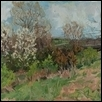 "SPRING BLOOMS -- Artist: sarah Berger Size: 20"" x 16"" Medium: Oil Price: $350.00"