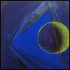 "SAPPHIRE -- Artist: Susan Kiefer Size: 24"" x 24"" Medium: Oil Price: $500.00"
