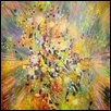 "RADIANCE -- Artist: Rho Albrecht Size: 18"" x 24"" Medium: Mixed Media Price: $350.00 ***SOLD***"