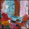 "BRIGHT INTERIOR #4 -- Artist: Rita Guile Size: 9"" x 12"" Medium: Acrylic Price: $375.00"