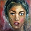 "ZEPHYR -- Artist: Smitha George Size: 30"" x 40"" Medium: Oil Price: $500.00"