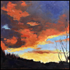 "DAYS END -- Artist: Jacqueline Smith Size: 14"" x 11"" Medium: Oil Price: $275.00"