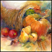 "BOUNTIFUL HARVEST -- Artist: John Keeling Size: 24"" x 20"" Medium: Watercolor Price: $800.00"