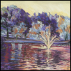 "LOOSE PARK OF A DIFFERENT COLOR -- Artist: Patricia Jessee Size: 18"" x 12.5"" Medium: Pastel Price: $350.00"