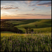 Pano - Flint Hills Sunset
