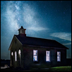 Lower Fox Creek Schoolhouse and MilkyWay