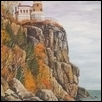 Splitrock Lighthouse in Autumn