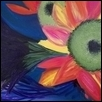 "COLOR BURST -- Artist: Vicky Baur Size: 14"" x 11"" Medium: Oil Price: $85.00 ***SOLD***"