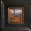 "AUTUMN ENDING -- Artist: Kimbell McCurry Size: 6"" x 6"" Medium: Oil Price: $400.00"