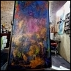 "LOOPS; TIMELESS -- Artist: Samuel Hammers Size: 60"" x 36"" Medium: Encaustic Price: $3,200.00"