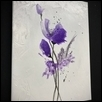 "SIMPLY PURPLE -- Artist: Greg Jones Size: 12"" x 16"" Medium: Acrylic Price: $300.00"