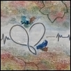 "MY HEART BEATS ON -- Artist: Jean McGuire Size: 16"" x 20"" Medium: Mixed Media Price: $500.00"