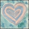"HEARTSTRINGS -- Artist: Georgia Washington Size: 12"" x 12"" Medium: Other Price: $100.00"