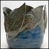 "NOVEMBER POND -- Artist: Daphne Bryan Size: 7.5"" x 6.5"" x 6.5"" Medium: Ceramic Price: $120.00"