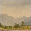 "SMOKY COLORS IN OURAY VALLEY -- Artist: john grisnik Size: 6"" x 12"" Medium: Oil Price: $600.00"