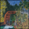 "A FALL DAY AT THE RED BRIDGE -- Artist: Paula Winchester Size: 15"" x 19"" Medium: Pastel Price: $140.00"